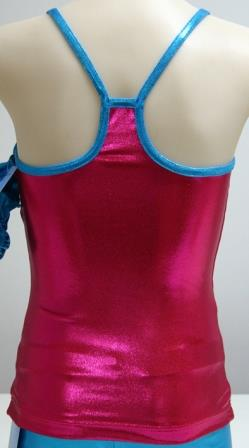 Women's Singlet T-Junction Back